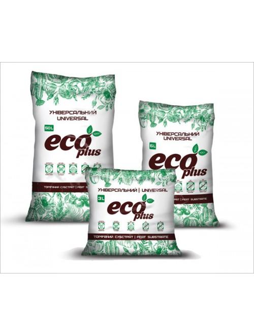 Субстрат Eco Plus Універсальний 10 л (2,7кг)