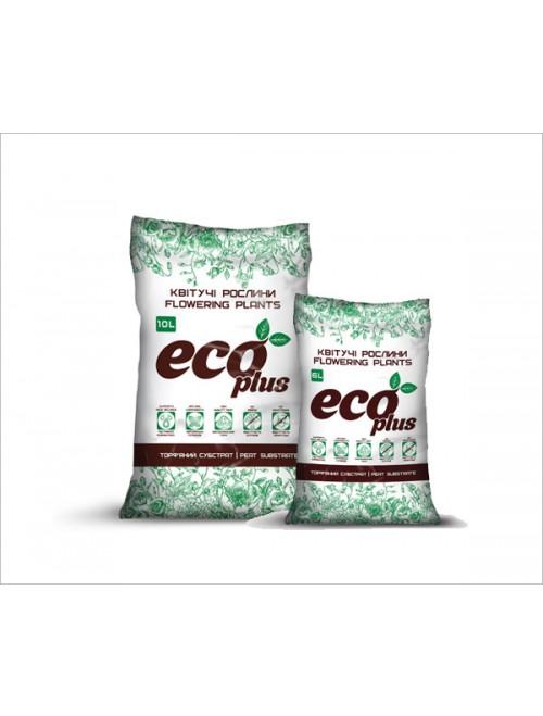 Субстрат Eco Plus Квітучі 6л (2,3кг)