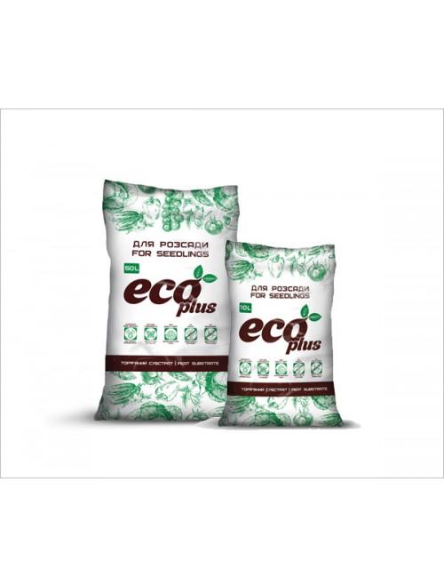 Субстрат Eco Plus Розсада 10л (3,1кг)