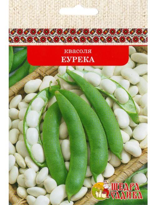 Квасоля кущова на сухе зерно Еурека (15г)