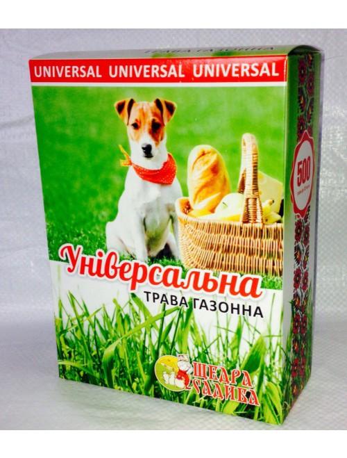 "Трава газонна ""Щедра Садиба"" універсальна (0,5 кг)"