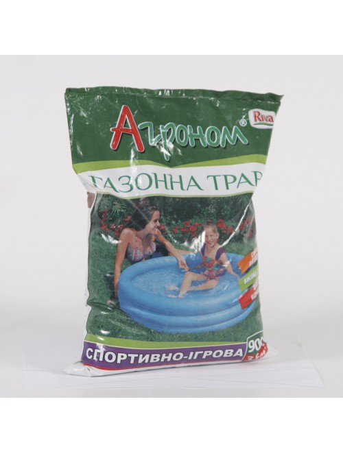 Трава газонна Агроном спортивна (0,9кг)